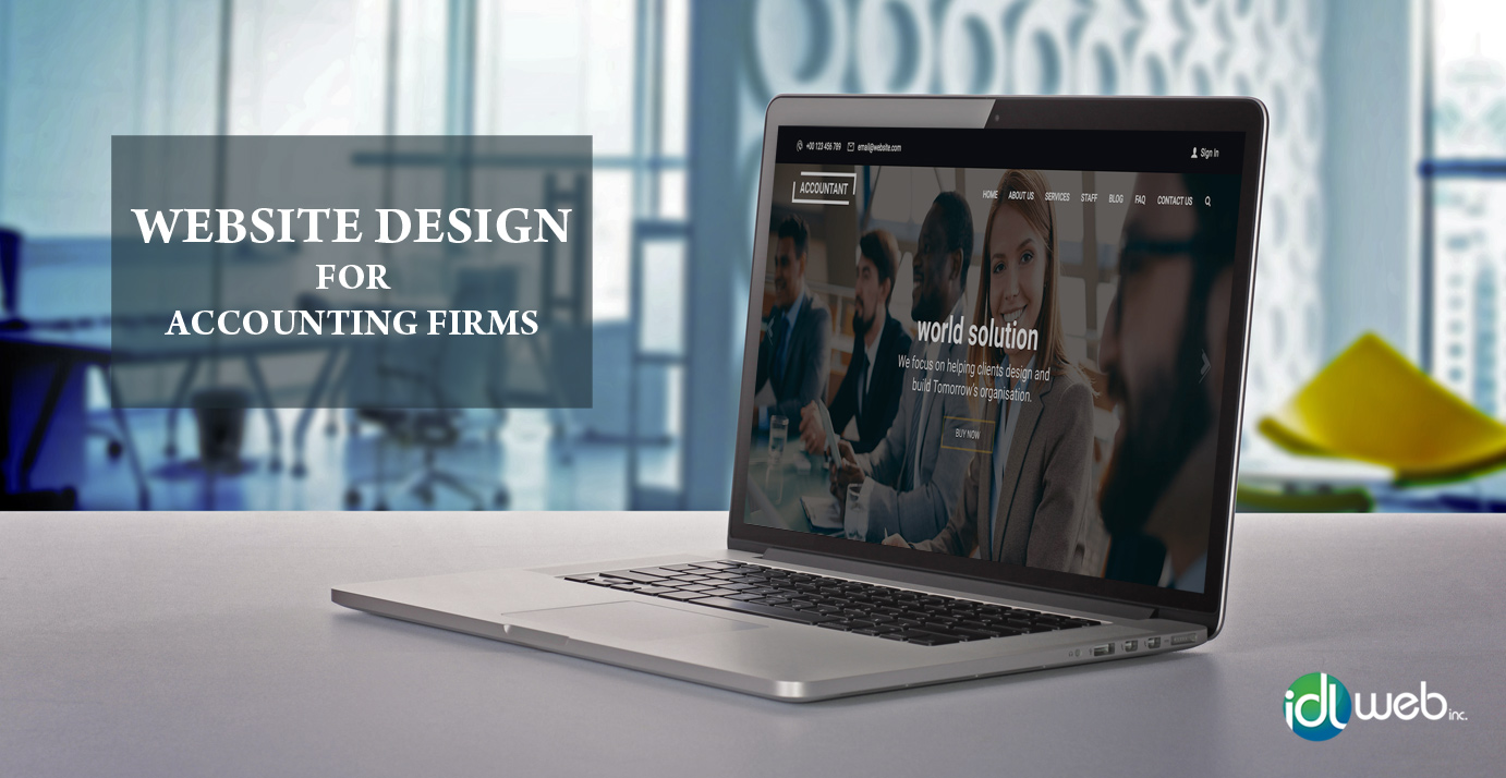 Accountant Website Design Toronto